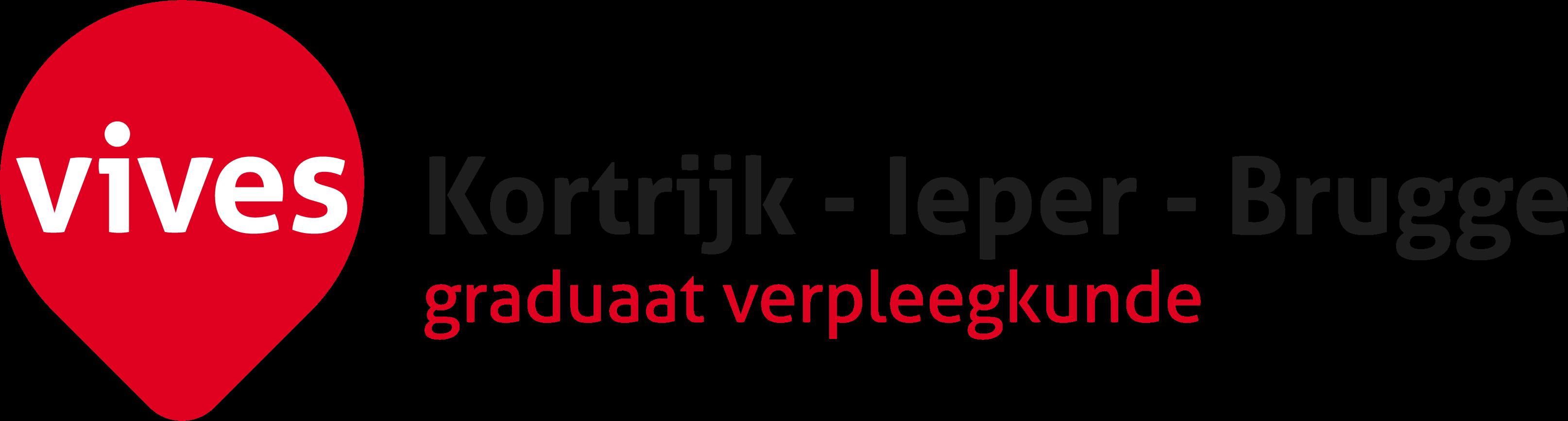 Logo VIVES Kortrijk - Ieper - Brugge graduaat verpleegkunde