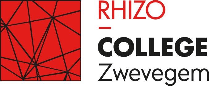 Logo RHIZO College Zwevegem