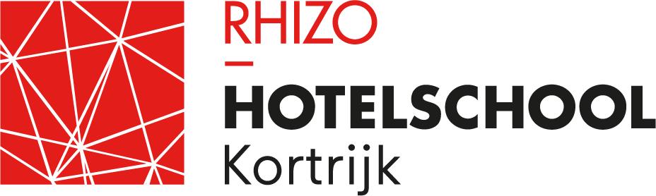 Logo RHIZO Hotelschool Kortrijk