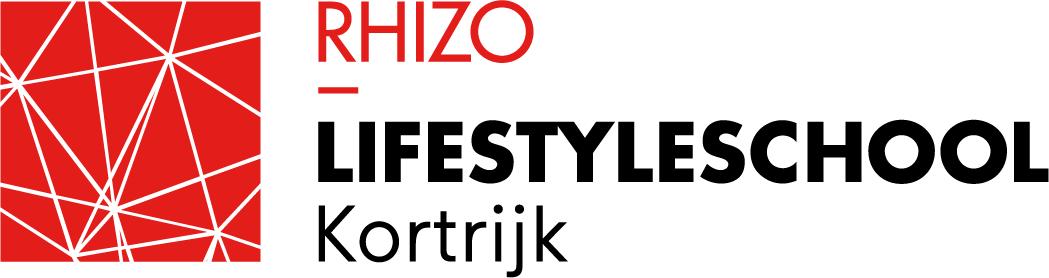 Logo RHIZO Lifestyleschool Kortrijk