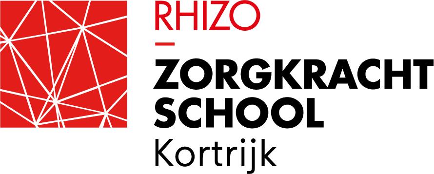 Logo RHIZO Zorgkrachtschool Kortrijk
